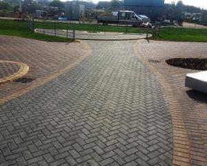 Large scale block paving project